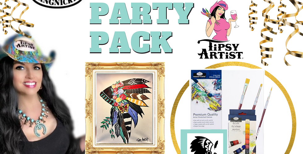 Headdress Painting Party Pack