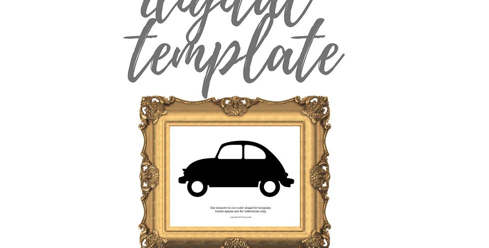VW Bug Template
