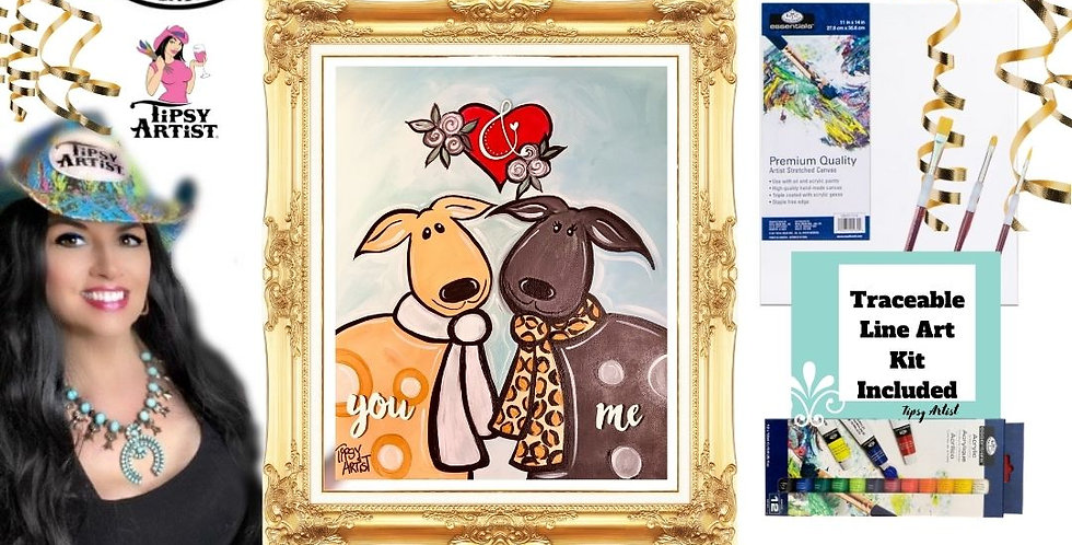 Puppy Love ~ Painting Kit