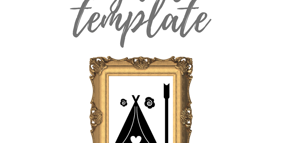 Tipi Template