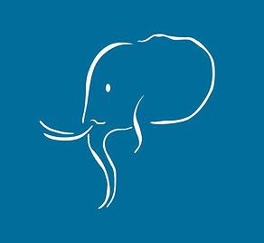 White Elephant Wisdom Logo