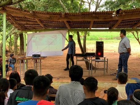 Panamá y Paraguay intercambian conocimientos sobre monitoreo comunitario y planificación territorial