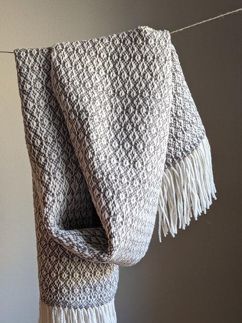 Rosepath Wool Scarf - Digital PDF