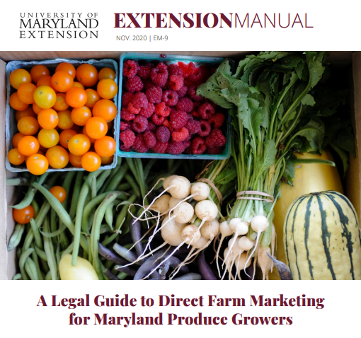 Legalities of Direct Marketing Specialty Crops