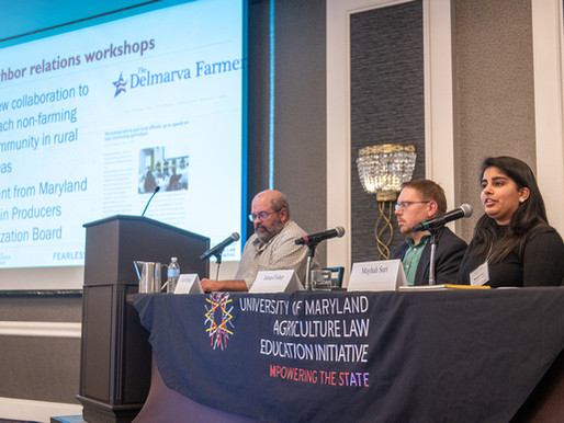 Sixth Annual Agricultural and Environmental Law Conference Offered Online