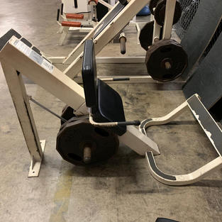 LEGS: Hammer Strength Plate Loaded Incli