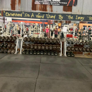 Dumbbells 5-150 Pounds Broad View