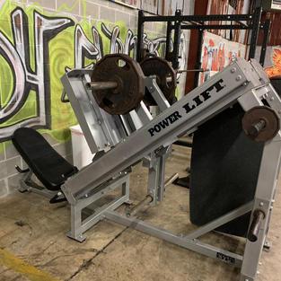LEGS: Power Lift Plate Loaded Leg Press
