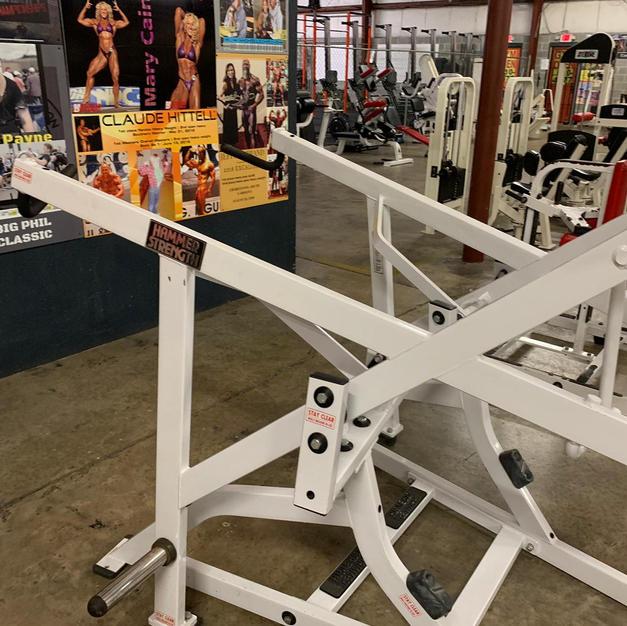 BACK: Hammer Strength Plate Loaded High
