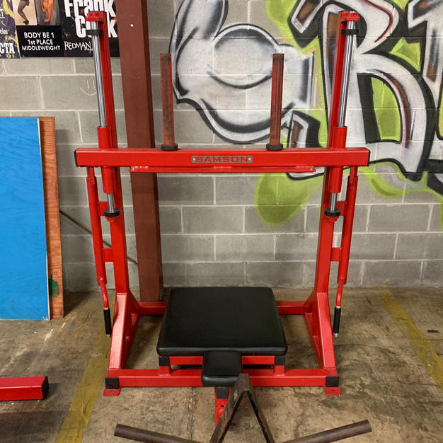 LEGS: Vertical Plate Loaded Leg Press