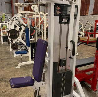 CHEST: Life Fitness Fly Pin Load