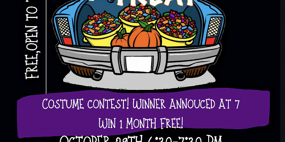 Trunk or Treat & Halloween Party