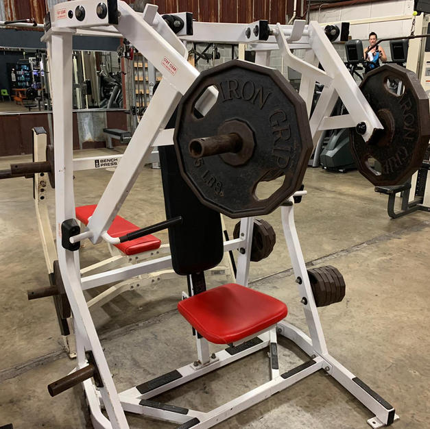 CHEST: Hammer Strength Plate Loaded Flat