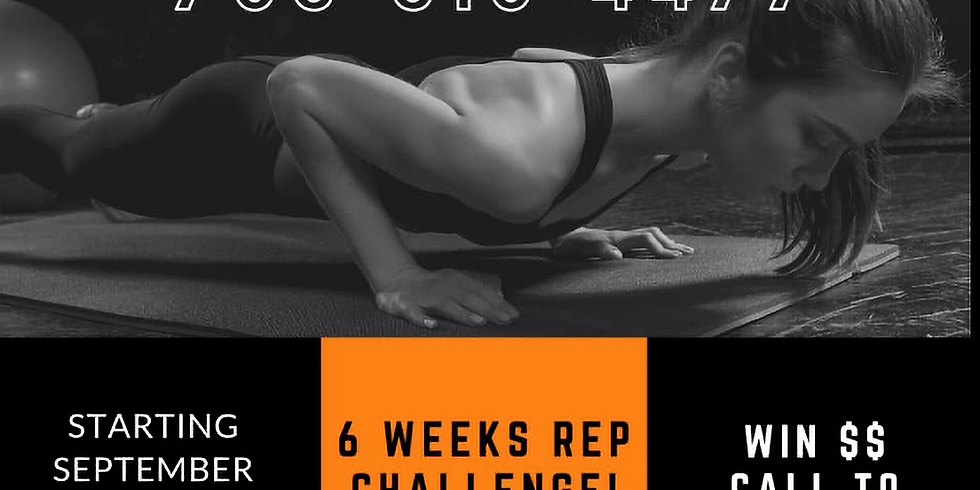 The 6 WEEK REP CHALLENGE