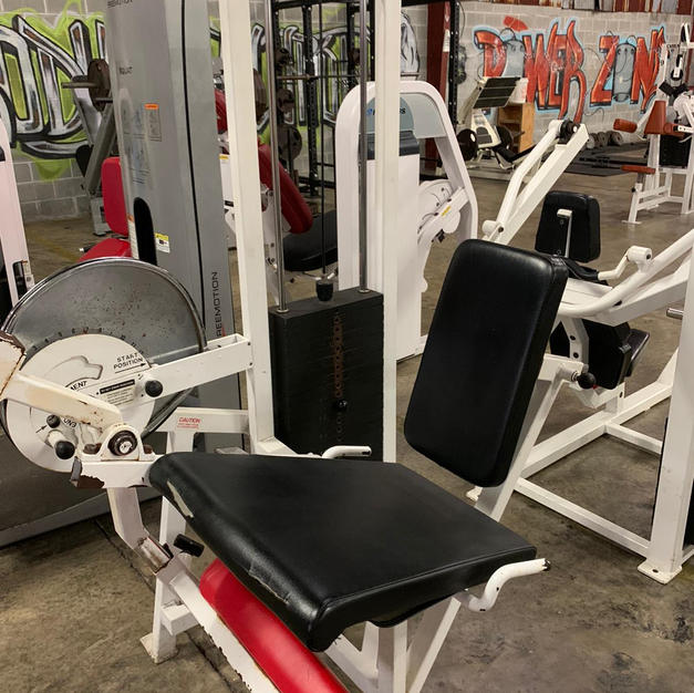 LEGS: Cybex In Loaded Seated Ham Curl