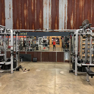 CHEST: 2 Cable Crossover Pulley System
