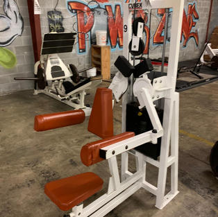 SHOULDERS: Cybex Seated Machine Lateral