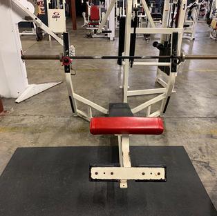CHEST: Decline Bench Press