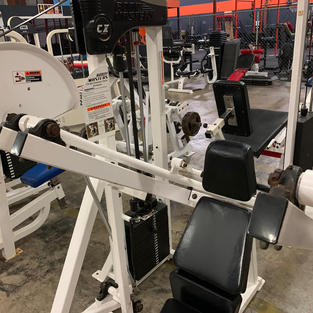 TRICEP: Pin Loaded Machine Tricep Extens