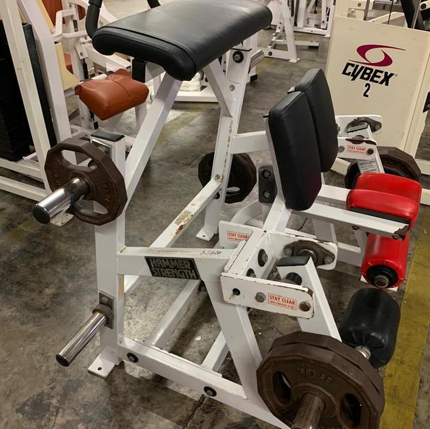 LEGS Hammer Strength Single Leg Plate Ha