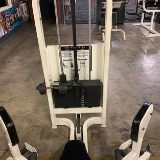 LEGS Cybex Pin Loaded Abduction