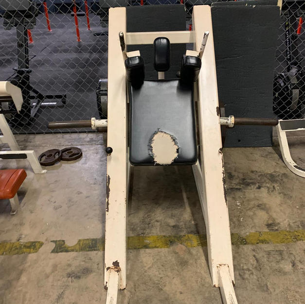 LEGS Hammer Strength Plate Loaded Hack S