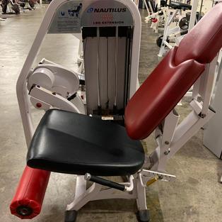 LEGS: Nautilus Pin Loaded Leg Extension
