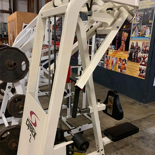 BACK: Cybex Pin Loaded Seated Row