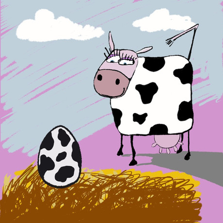 When Does A Cow Lay Eggs?..