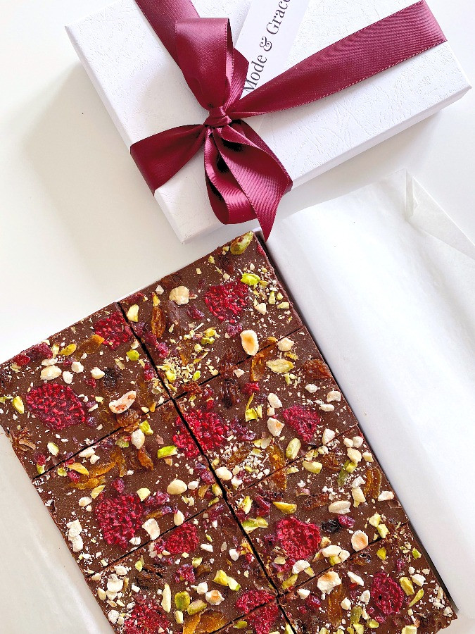 Fruity & Nutty Gift-Box Brownies