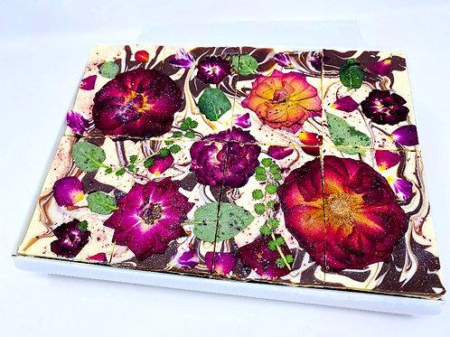 Rose & Elderberry - Floral Brownies