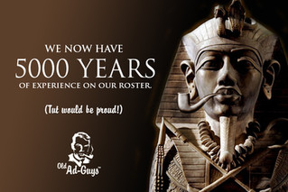 Old Ad Guys™ hits 5000 Years.