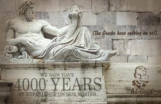 Old Ad Guys hits 4000 years