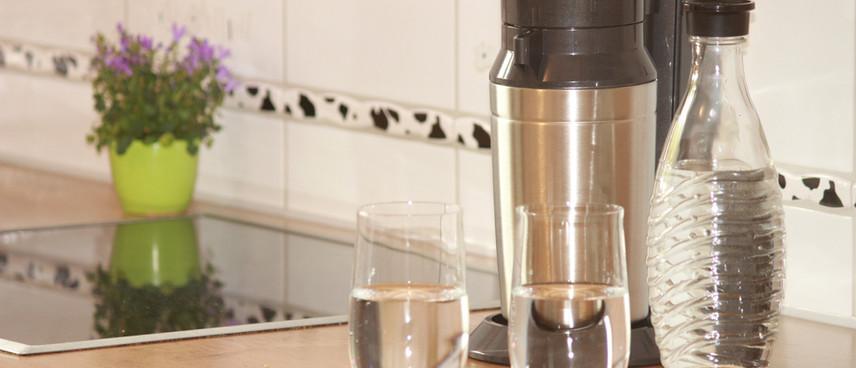 SodaStream zum Sprudeln von Wasser