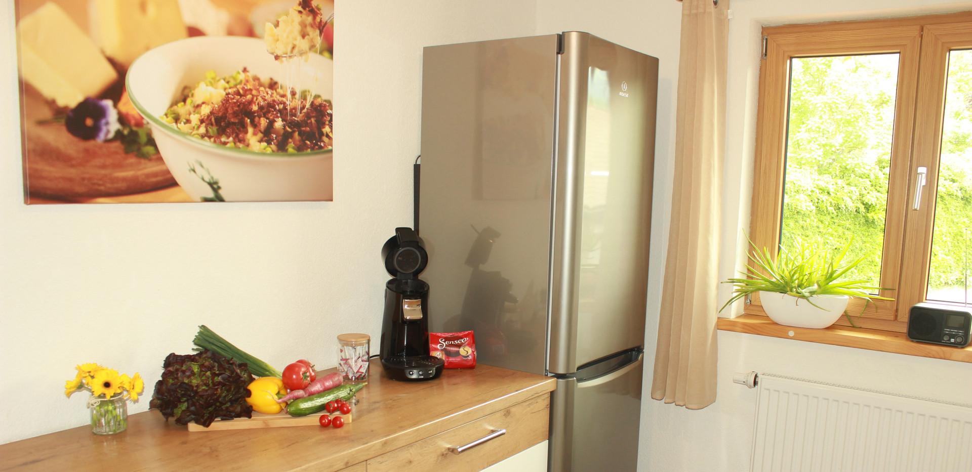 Küche mit Senseo Kaffeemaschine
