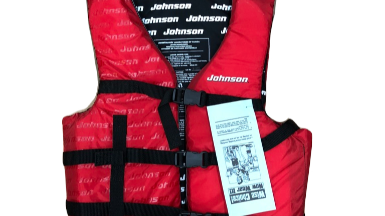 JOHNSON Life jacket
