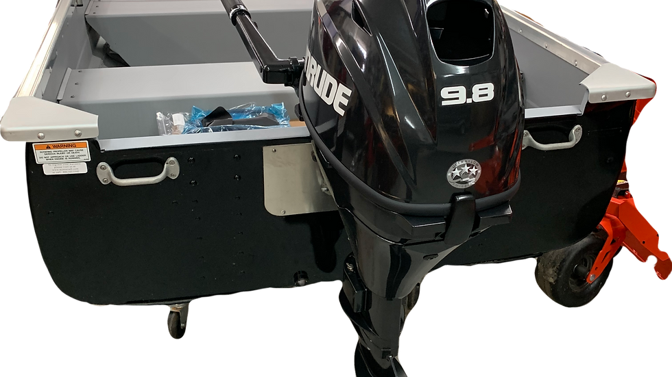 MIRROCRAFT 2019 Resorter 12' + 9.8HP Evinrude Etec