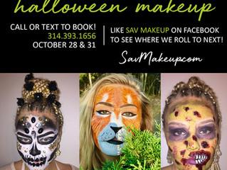 Halloween Makeup! Rolling Makeup Studio