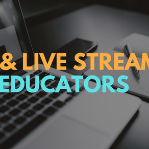 Live Streaming with OBS for Teachers and Educators