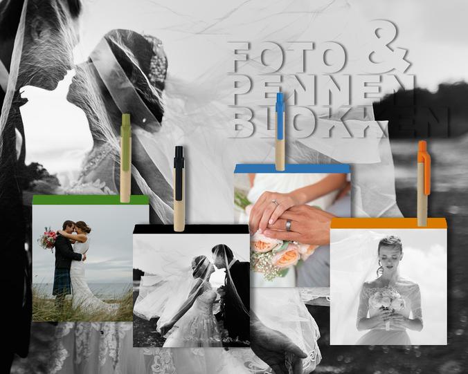 Houten fotoblokken
