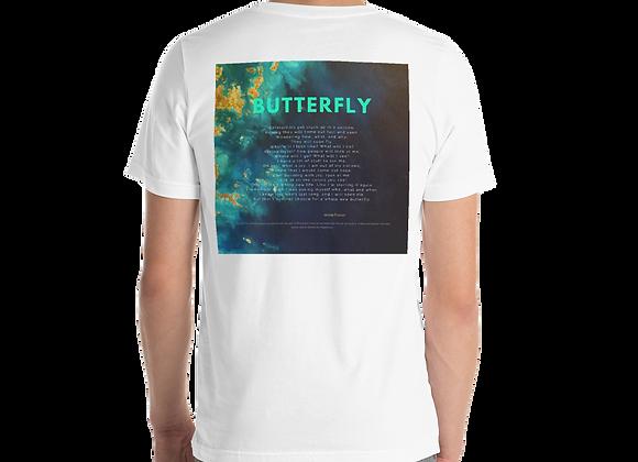 """""""Butterfly"""" Short Sleeve Unisex T-Shirt"""