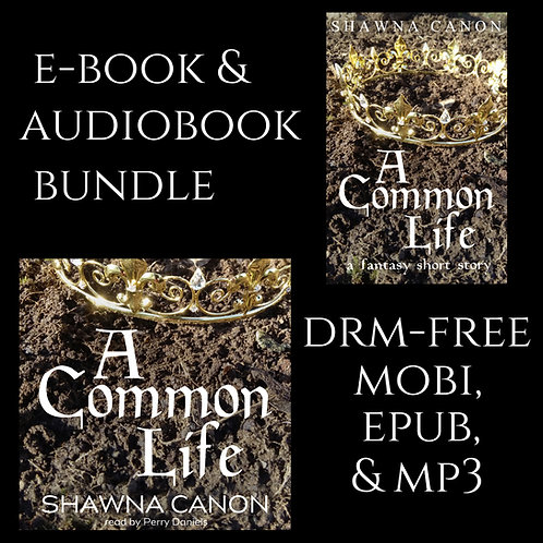 A Common Life e-book and audiobook bundle