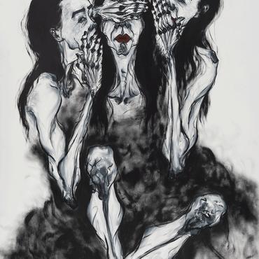 분열(Split)1 , 162.2 x 112.1cm , Oil on canvas , 2019