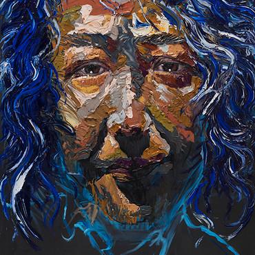 임남훈, 결의, 162x130cm, Oil on canvas, 2018