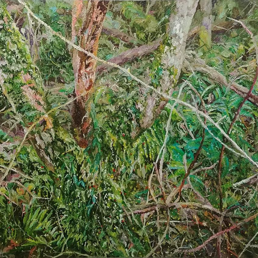 162.2x112cm, Oil on canvas, 2017