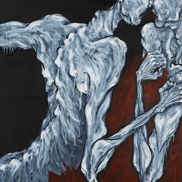 Rendezvous_외면(avoid)5, 116.8 x 91.0 cm, Oil on canvas, 2019