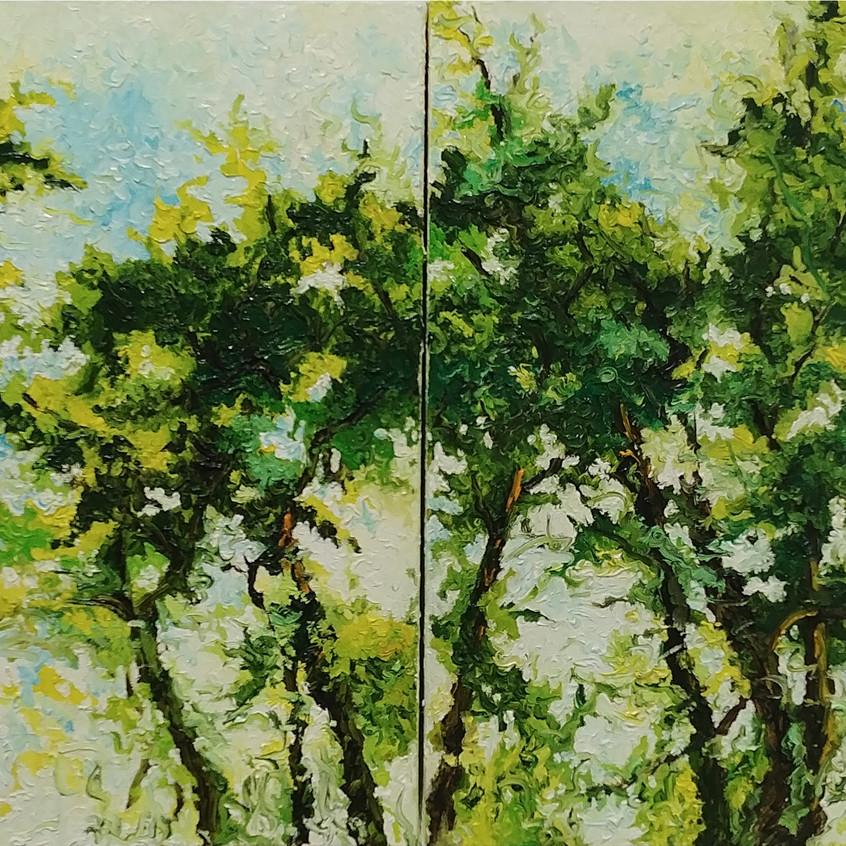80x40cm, oil on canvas, 2015