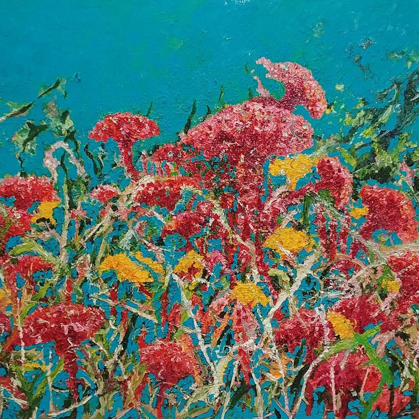 116.8 x 91cm, oil on canvas, 2017