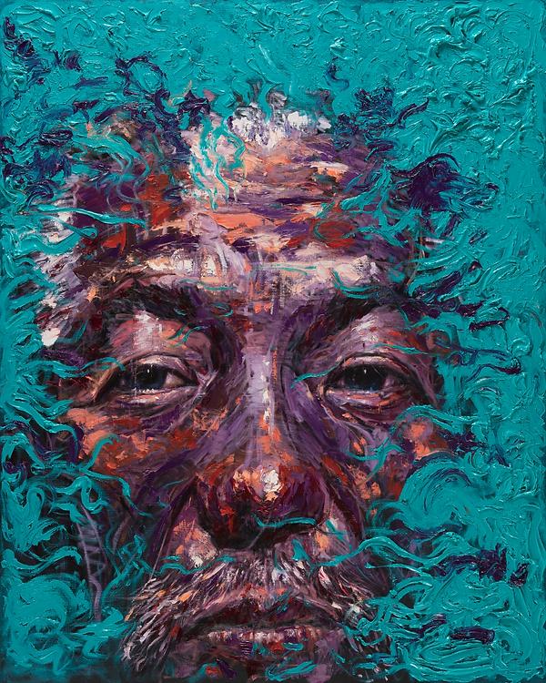 1. 도전, 162x130cm, Oil on Canvasm 2019.pn