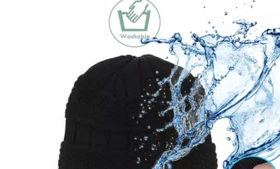 Bonnet écharpe calion sans-fil Bluetooth